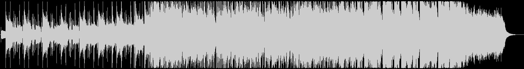 エレピとオルガンとオケのエンディングの未再生の波形