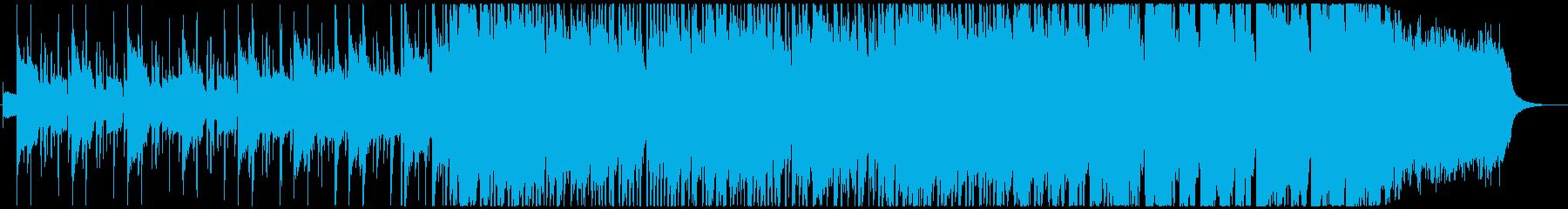 エレピとオルガンとオケのエンディングの再生済みの波形