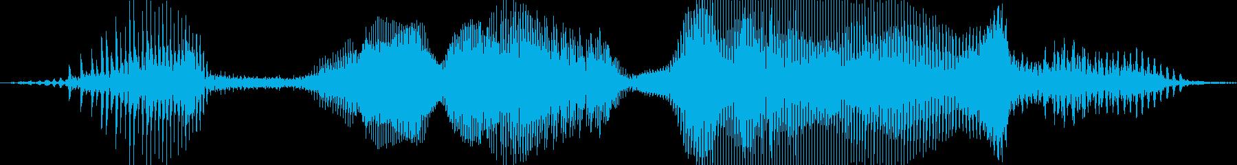 ハズレだよぉ!(怖い)の再生済みの波形