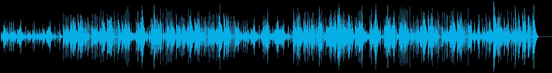 聖夜に聴きたいガットギターデュオ ワルツの再生済みの波形