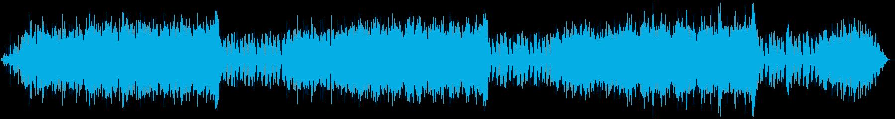 あざやかな海を表した曲の再生済みの波形
