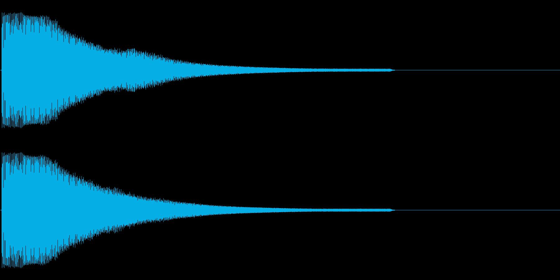 起動、ロゴ、サイバーの再生済みの波形