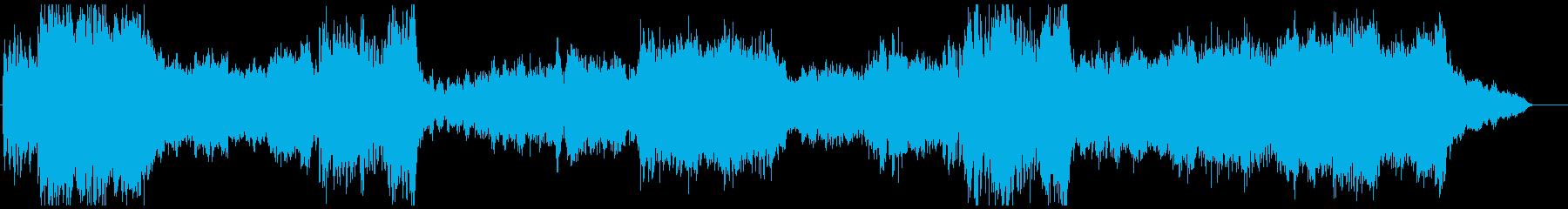冒険にワクワクするファンタジーOP風オケの再生済みの波形