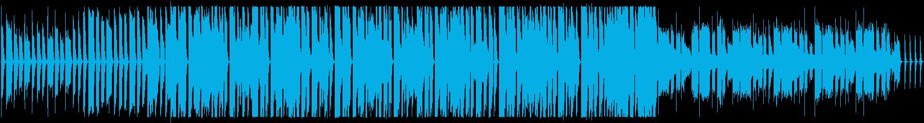 かわいいカントリーの再生済みの波形