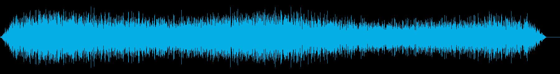 吹雪く 風の 音の再生済みの波形