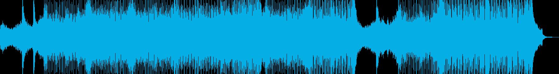 近未来を思い描いたテクノポップ Bの再生済みの波形