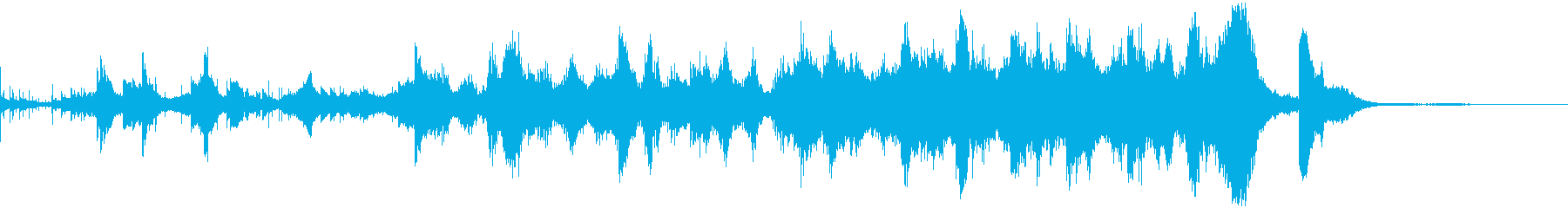 「働くこと」をイメージしたBGM の再生済みの波形