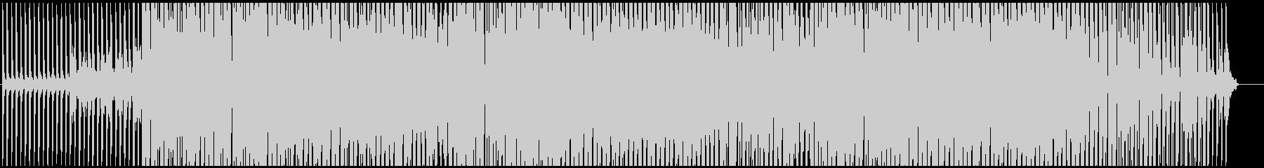 ヒップホップ風のレゲエの未再生の波形