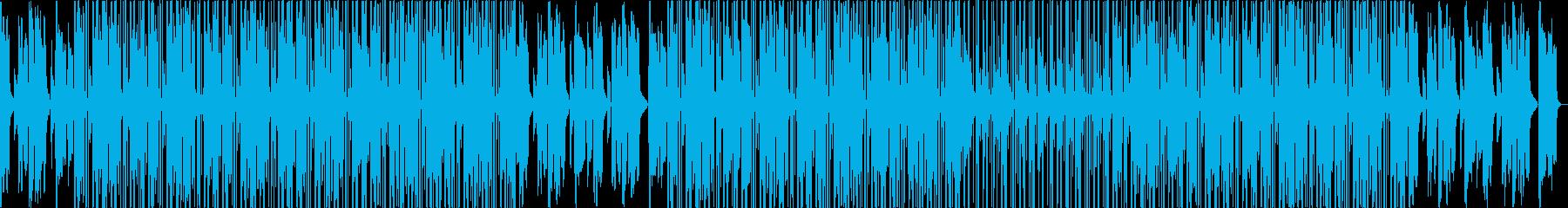 穏やか LOFI HIPHOPの再生済みの波形