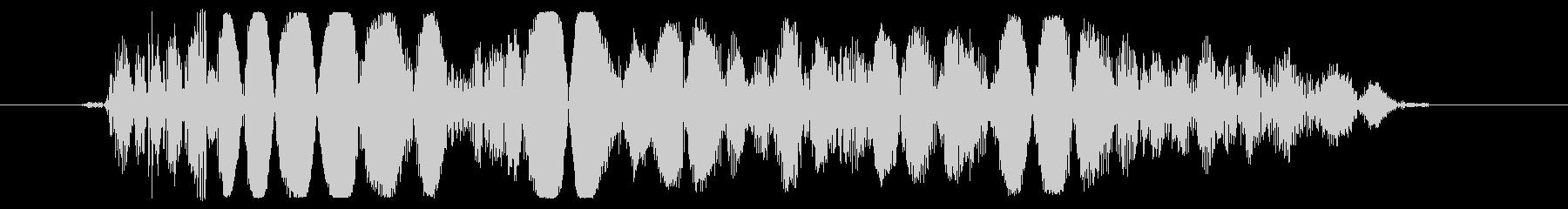 少し重めのパンチ,キックの効果音01の未再生の波形