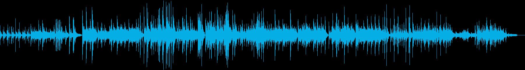 リラックス 和をしっとりとピアノバラードの再生済みの波形