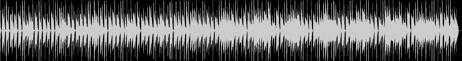 スマホゲームなど、ほのぼのデジタル音楽の未再生の波形