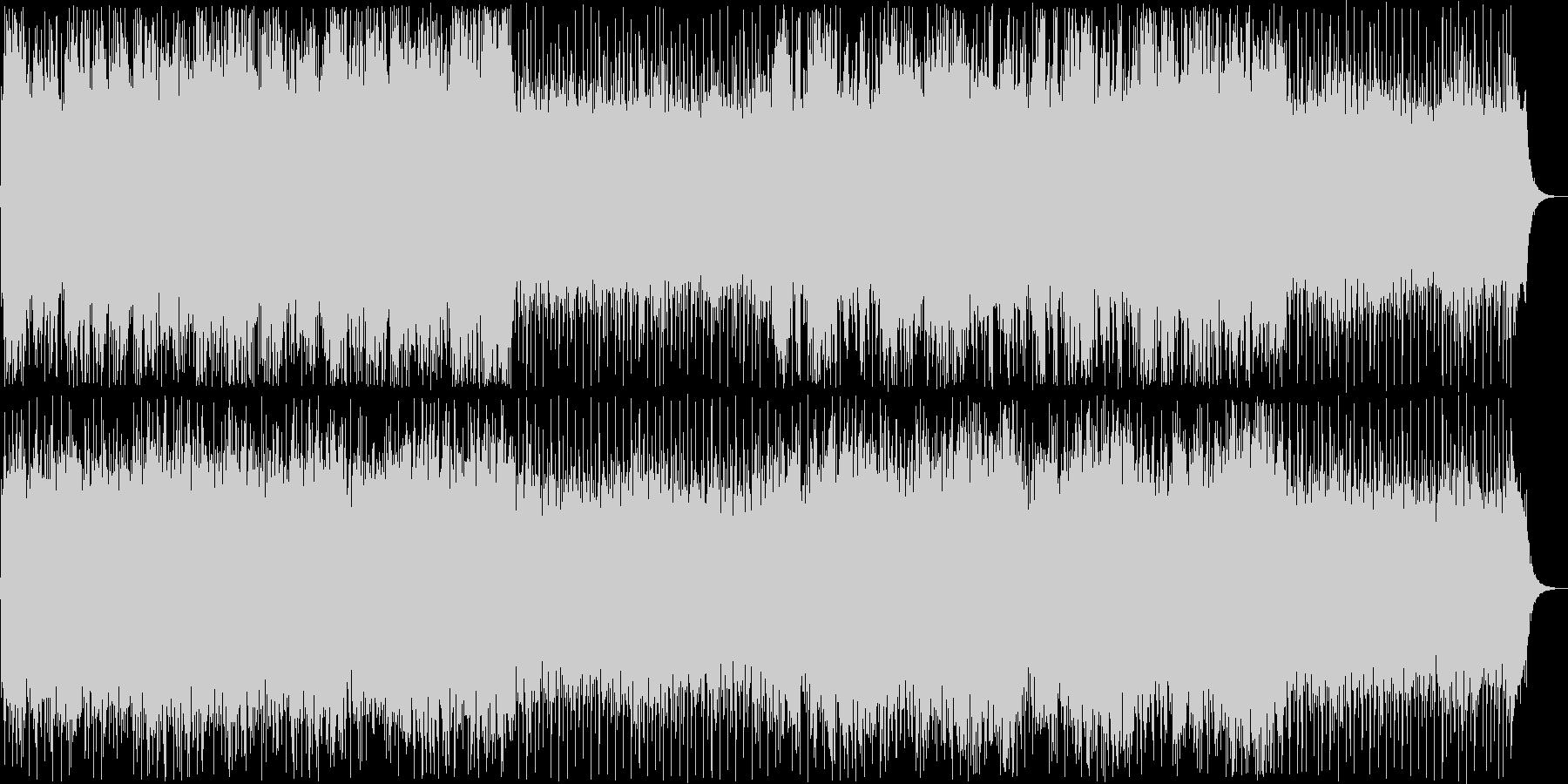 穏やかなシンセ管楽器ポップテクノ系の未再生の波形