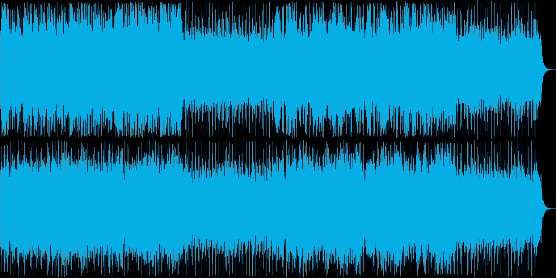 穏やかなシンセ管楽器ポップテクノ系の再生済みの波形