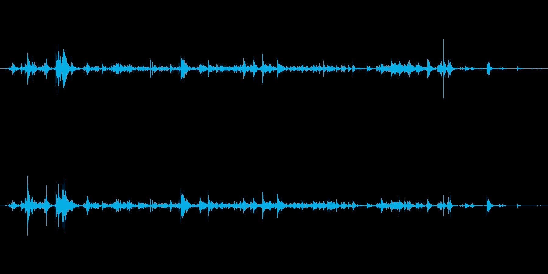 メタル 小さなローリング05の再生済みの波形