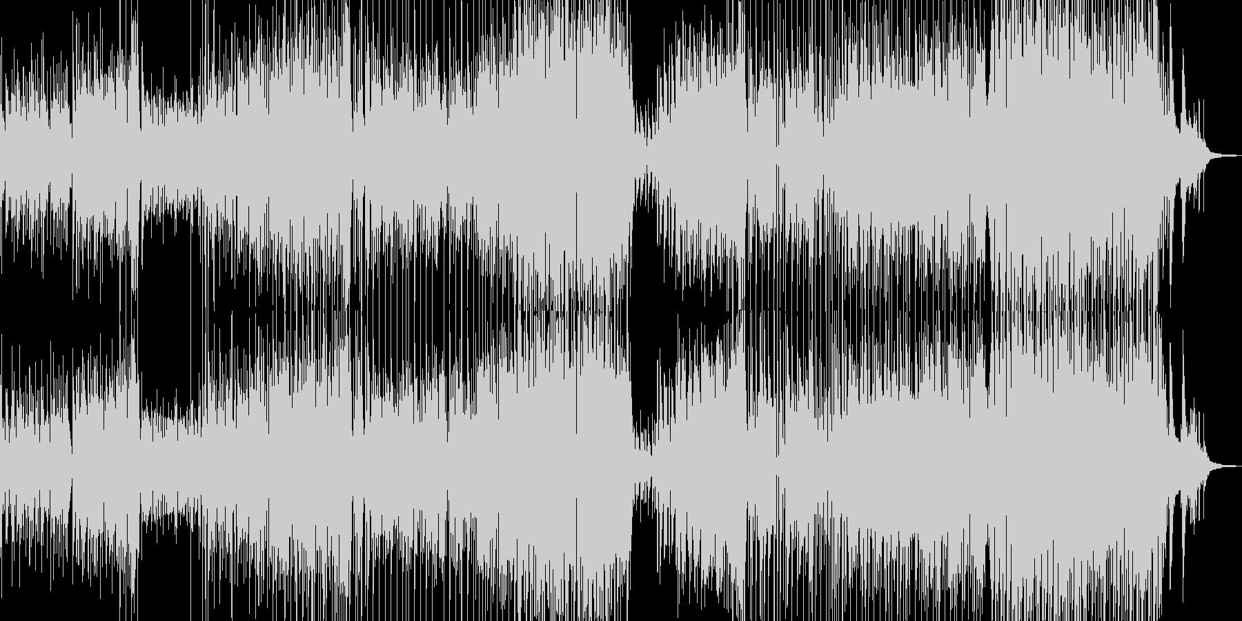 手風琴とギター・寛げる可憐なジャズ Bの未再生の波形