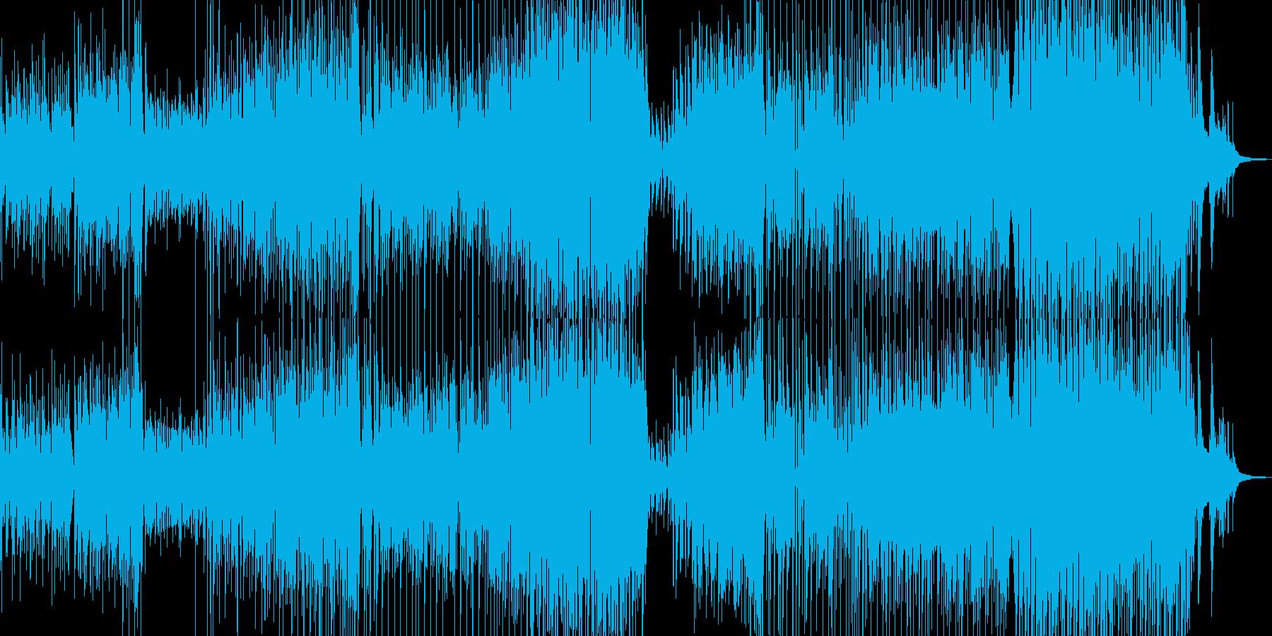 手風琴とギター・寛げる可憐なジャズ Bの再生済みの波形