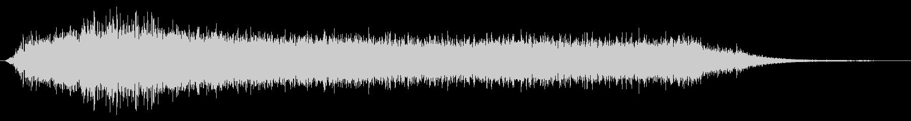 上昇 低音ピンポンライズ01の未再生の波形