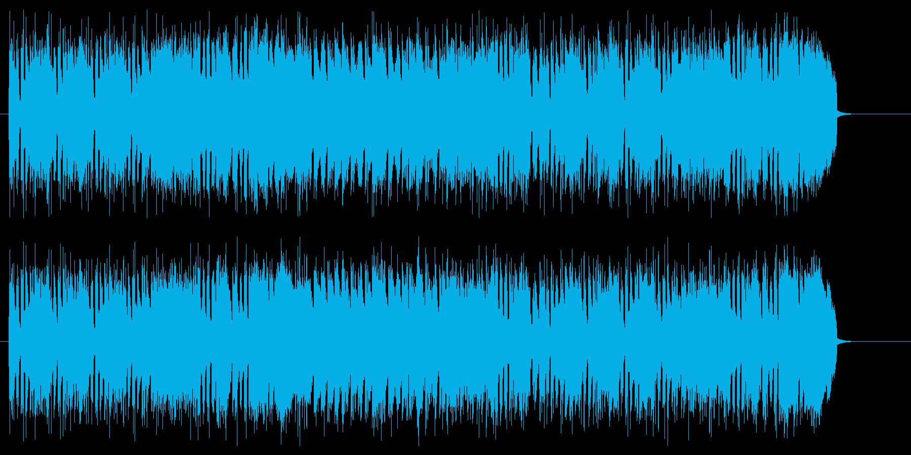 ゲームのバトルBGMにの再生済みの波形