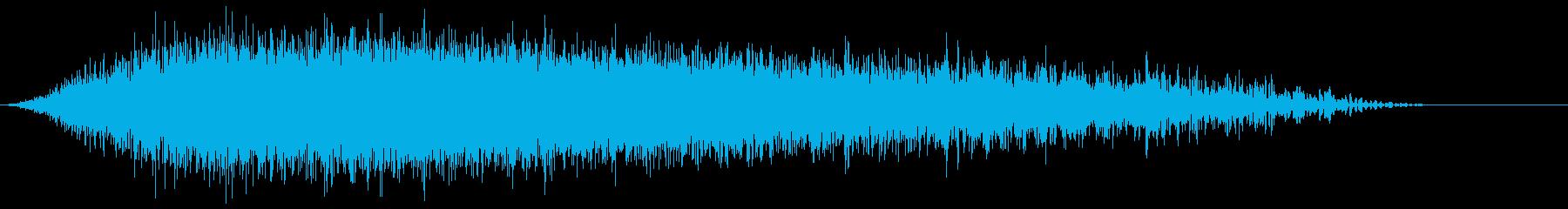 シューッという音EC07_72_2の再生済みの波形