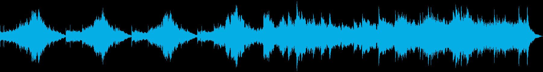 現代の交響曲 ファンタジー 魔法 ...の再生済みの波形