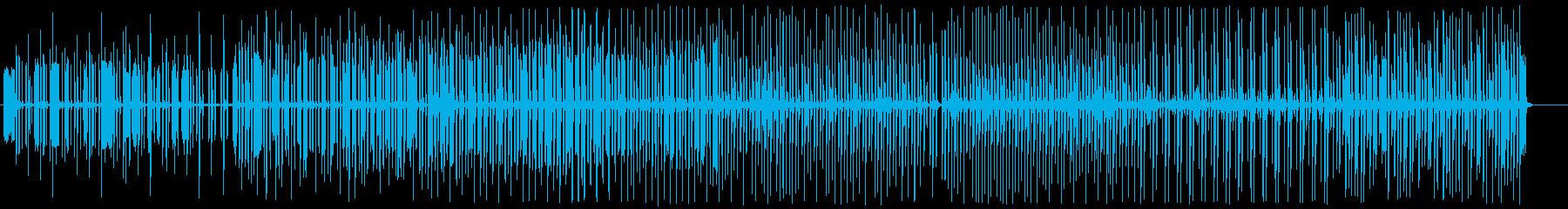 アコーディオン木琴のまったりマーチ♫の再生済みの波形