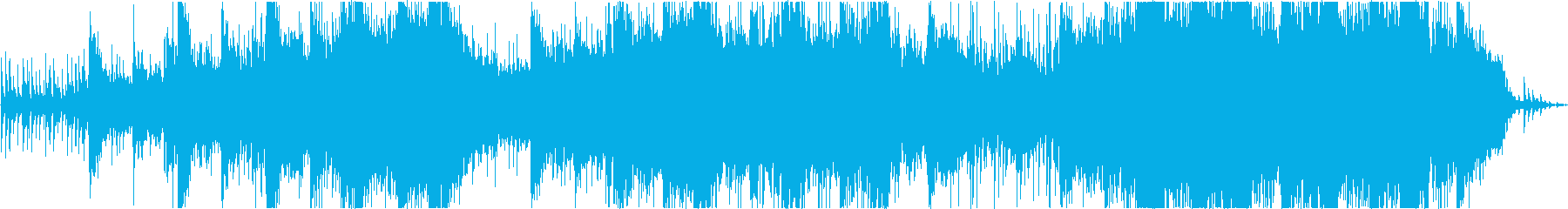 アンビエントで栄光の曲の再生済みの波形