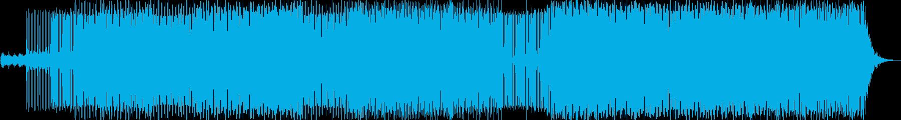 プログレッシブハウス。電力、エネルギーの再生済みの波形