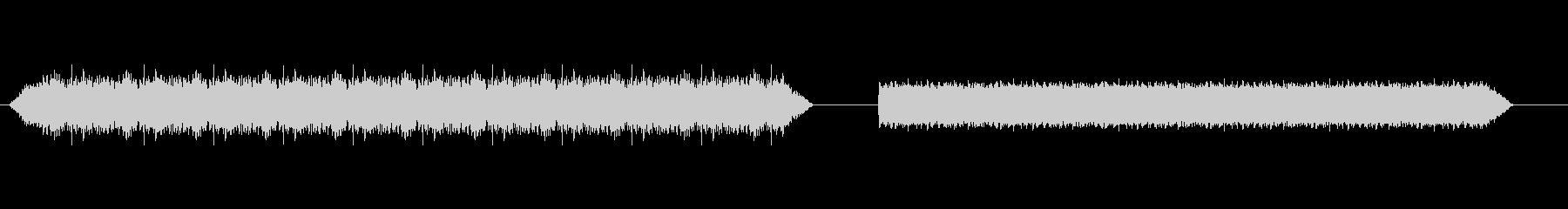スキャナー2の未再生の波形
