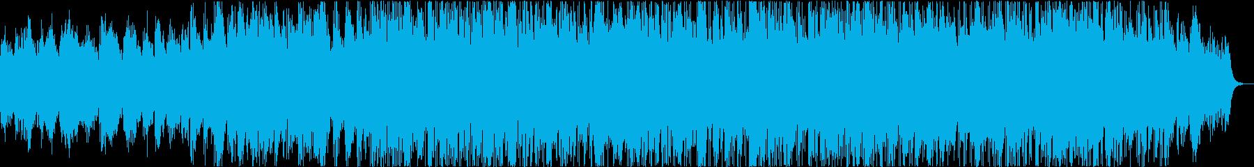もの悲しい雰囲気のスローバラードの再生済みの波形