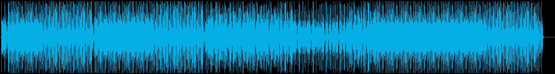 テーマパークの軽快でお洒落なジャズ♫の再生済みの波形