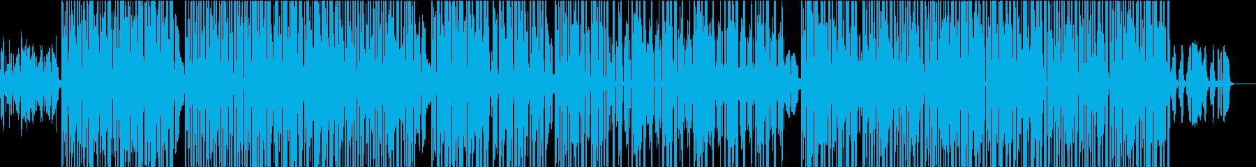 オープニング・ジャズギター・ヒップホップの再生済みの波形