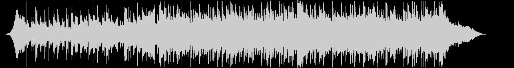 爽やか躍動感ピアノフルートコーポレートCの未再生の波形