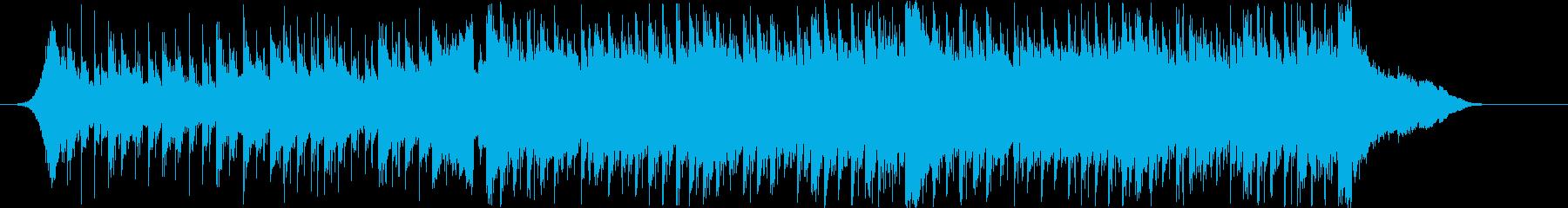 爽やか躍動感ピアノフルートコーポレートCの再生済みの波形