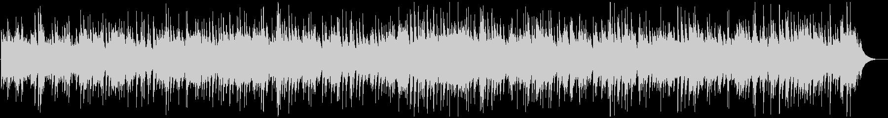 癒しのカントリーポップ、ピアノBGMの未再生の波形