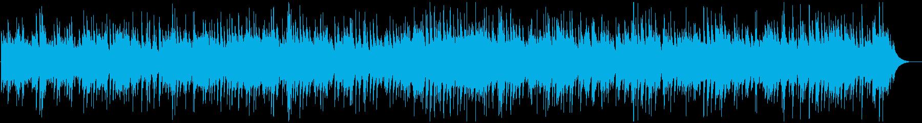 癒しのカントリーポップ、ピアノBGMの再生済みの波形