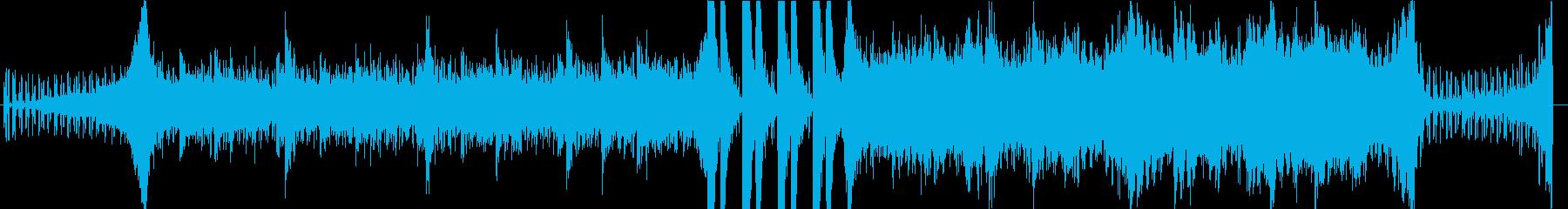 緊迫した瞬間をイメージした曲です。の再生済みの波形