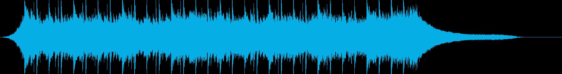 企業VP116、爽快、シンプル、ピアノcの再生済みの波形