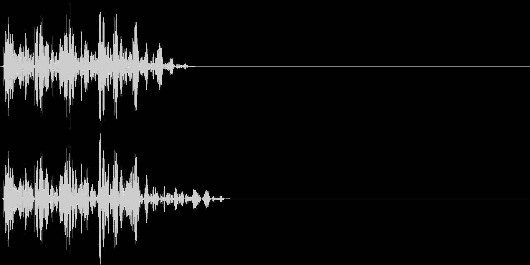 【ポコッ】ファミコン系 敵を倒す音_04の未再生の波形