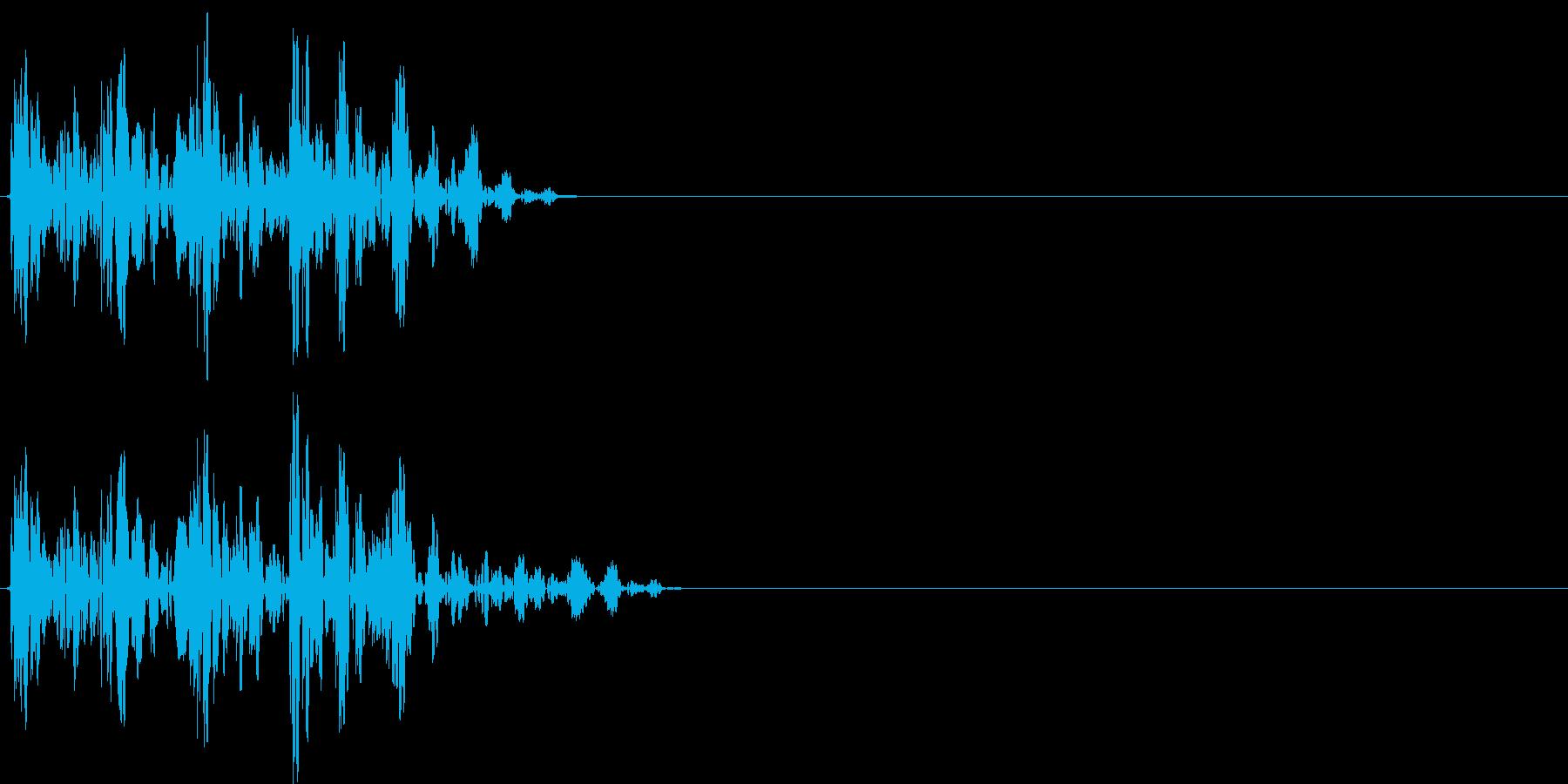 【ポコッ】ファミコン系 敵を倒す音_04の再生済みの波形