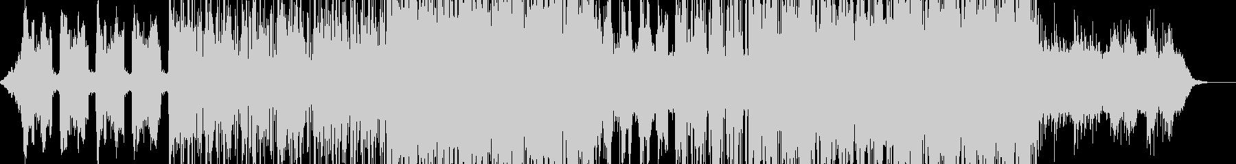 ピアノとシンセの感情的なエレクトロポップの未再生の波形