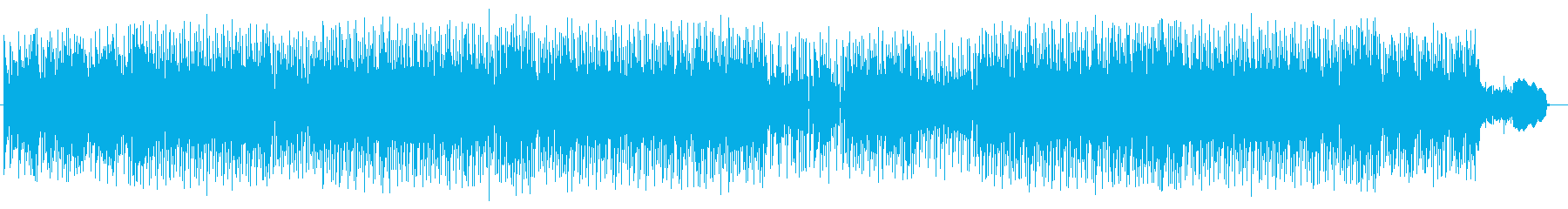 緩やかでメローなピアノとアコギメロディーの再生済みの波形