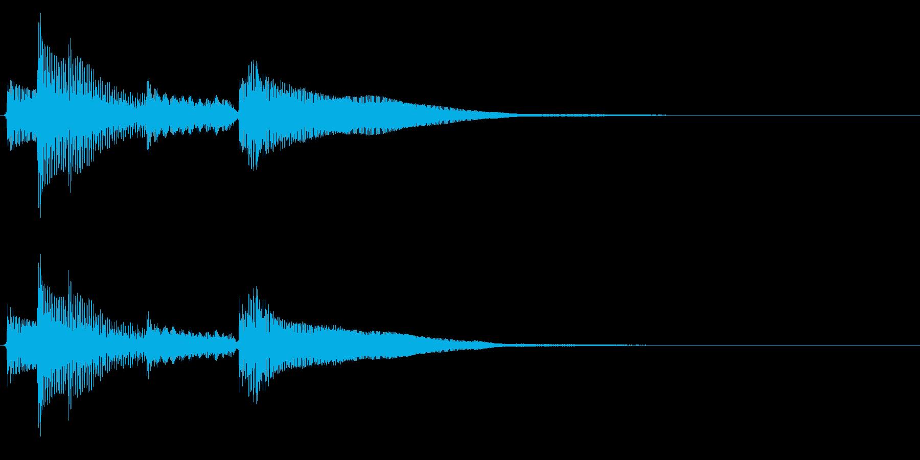 ★アコギ生音のジングル/オシャレ2の再生済みの波形