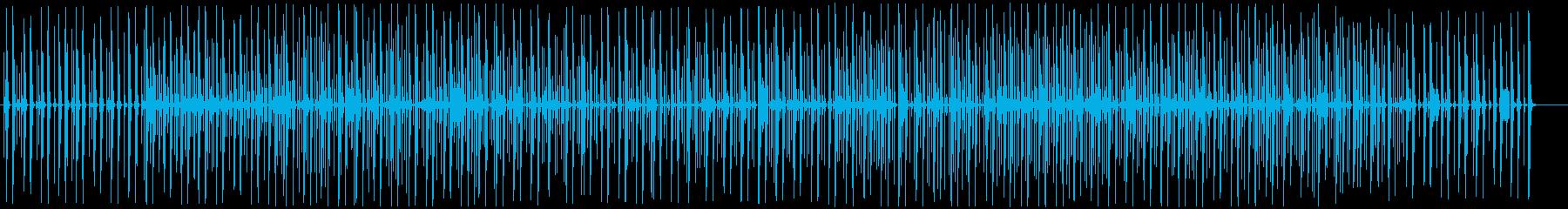 木琴のんびり可愛いカフェポップの再生済みの波形