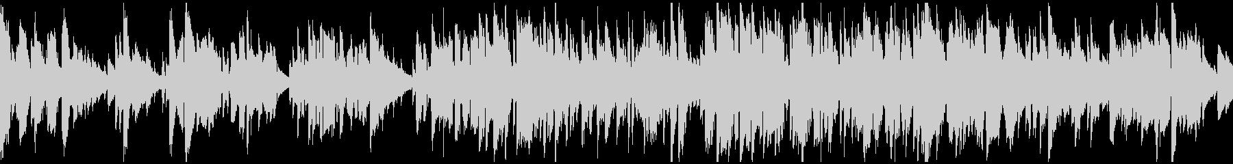 しっとり、リラックス系のジャズ※ループ版の未再生の波形