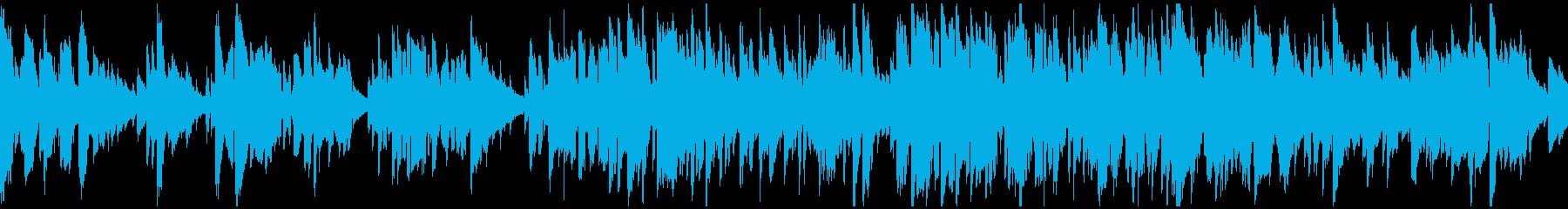しっとり、リラックス系のジャズ※ループ版の再生済みの波形