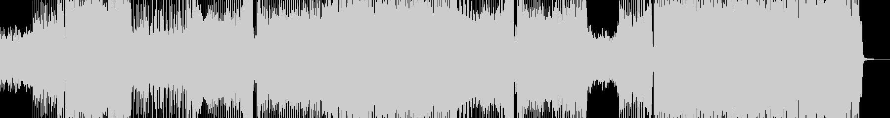 激しいド派手な展開に適したロック 短尺+の未再生の波形