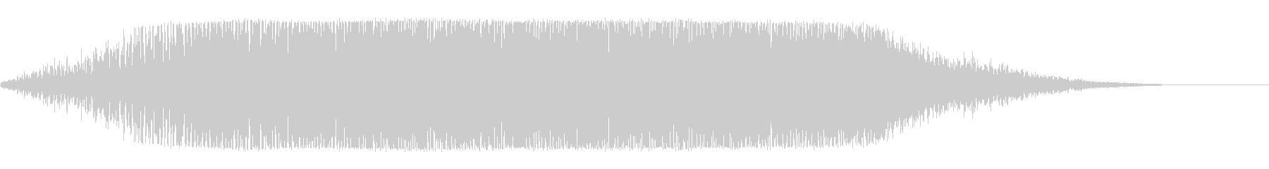 ヒュオーーン(巨大な宇宙船の通過音)の未再生の波形
