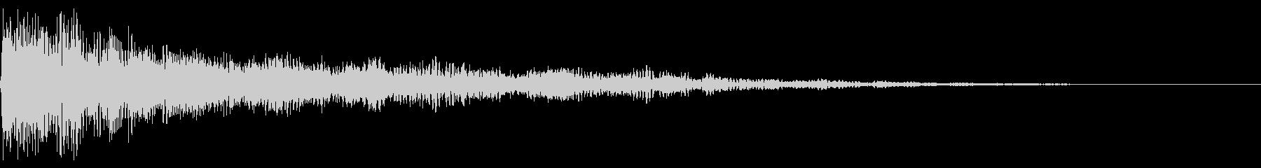 エレクトロザップシンセドローンザップの未再生の波形