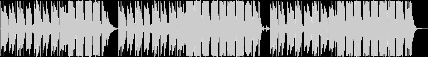 アジアンテイストのあるトラップの未再生の波形